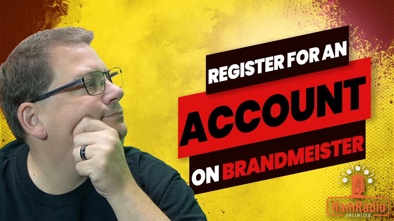 Register for an Account on Brandmeister #quickie – S1Q2